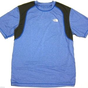 Mens The North Face Paramount Tech Tee in Blue M